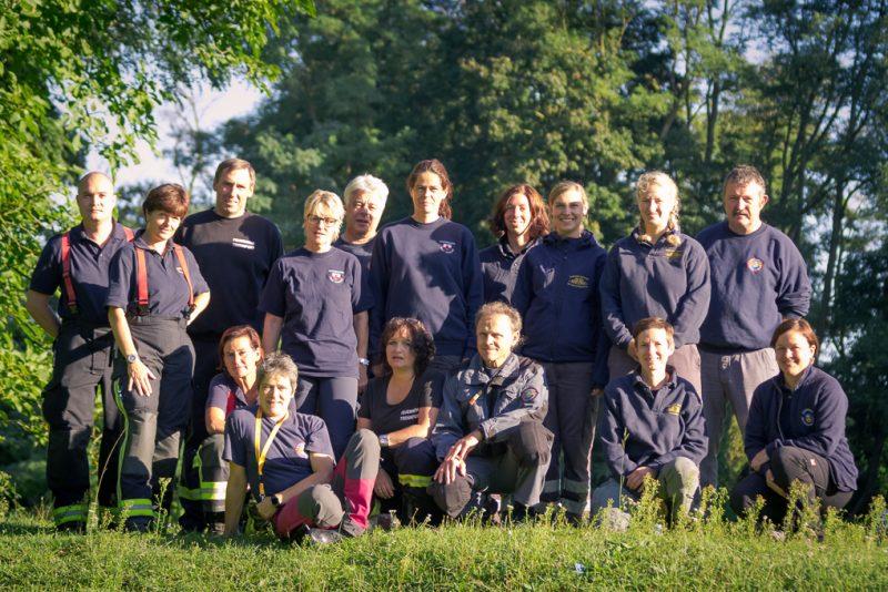 RettungshundestaffelWiesbaden-Trainingstage2017Gruppenbild